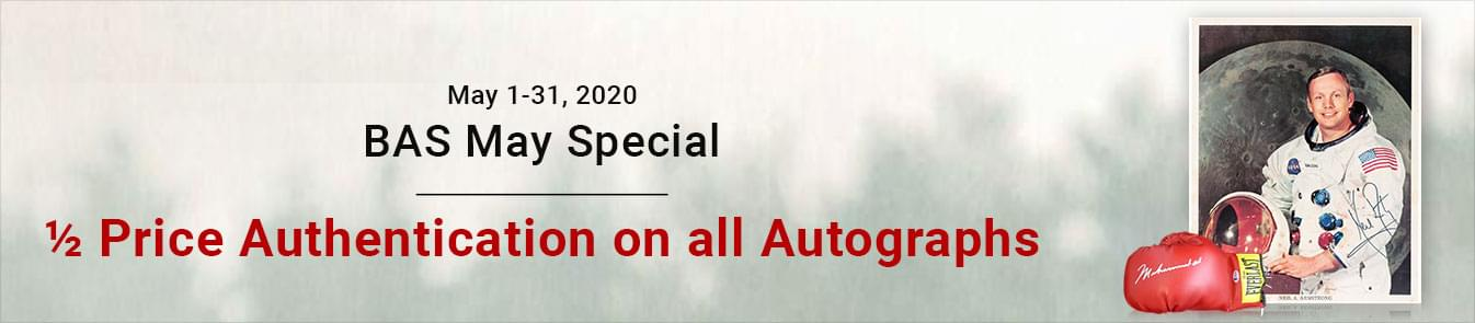 BAS May Special 2020 Banner